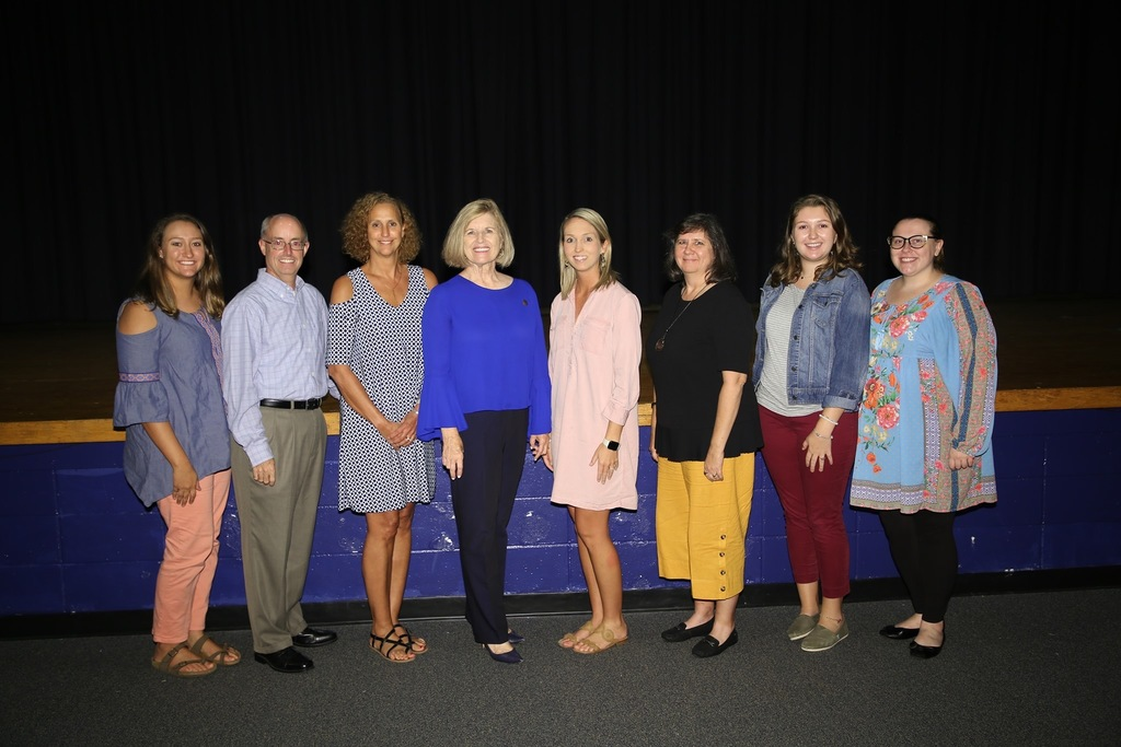 Anderson 3 teachers with State Superintendent Molly Spearman
