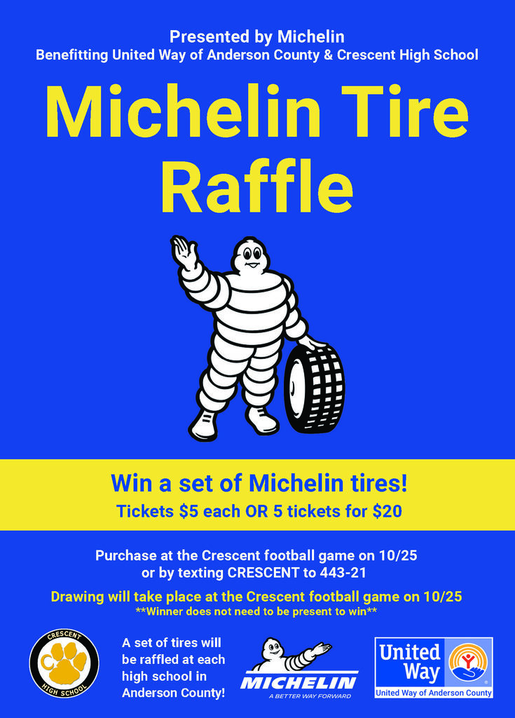 Michelin Raffle